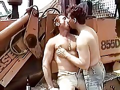 Hunks Workers Having Fun
