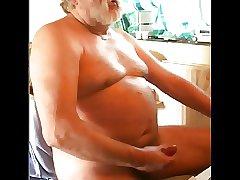 grandpa cum on cam on cam