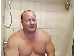 Smooth Bull Takes a Shower