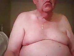 grandpa stroke in bed