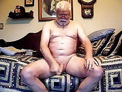Cute daddy playing on cam (no cum)