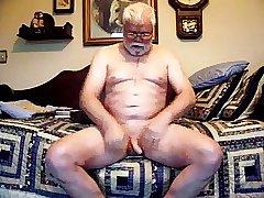 Cute daddy playing on cam (no cum)