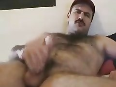 Gay Bear daddy Cums