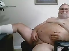 Beefy Bull Plays on Webcam