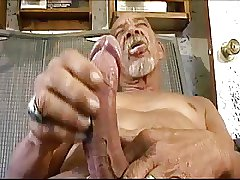 Big cock old man (no cum)