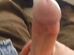 Daddy jerking his beautiful cock POV