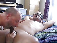 FaceFucking Frenzy From A Straight, Married Latino Dom.