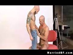 Tattooed hunks Brock and Drake fukcing gay porn