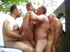 4some bear pool party