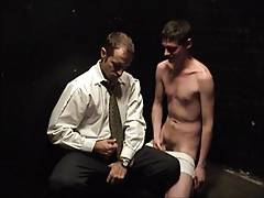 Marc and hist pupil Billy share a load