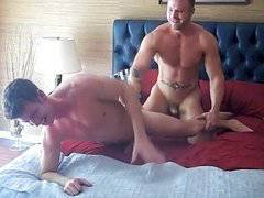 Jayden Tyler and Austin Wolf make love