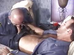 Sex with Cigar Smoking Cops