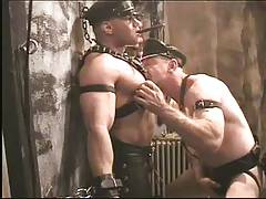 Smoking Leather Daddy Wayne And Bear Rick