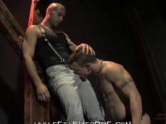 expect nothing but the best from this incredible encounter between Leo and Jesse. These two are the kings of kink and they wont be satisfied until their muscle bods have been put through the ringer in this video.