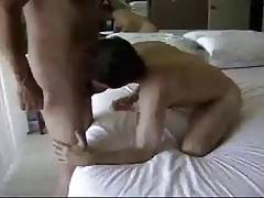 Twink Slave worships his Daddy Master