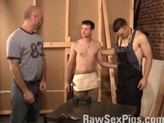Hot hunks having dirty and hot barebacking sex  they fuck deep and hard  Enjoying every inch of thick hard cocks  Cumming all over to ass  Watch it all at http  www rawsexpigs com for all your raw bareback and raunchy xxx gay movies