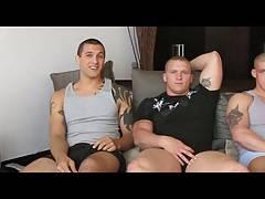 Nick Tower threesome