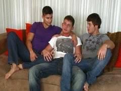 Justin, Nicco y Shan
