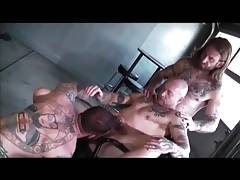 Greg York, Ian McQueen and Buck Angel