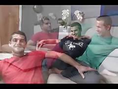 Hot Bareback Threesome