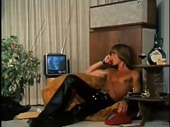 Peter in Berlin, wearing Black Leather 1973