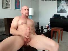 Two muscle man with tattoo getting hard ass fucking