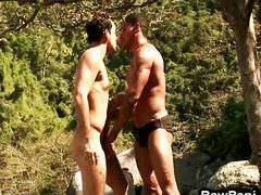 Latin gay ass wild bareback