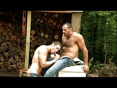 Colby Keller and Arpad Miklos