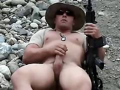 US Army Gay Solo