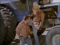 Muscular Wild West Cowboy Country