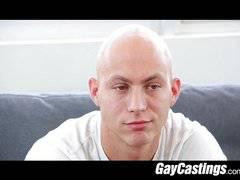 Hairless erotic dancer gets fucked