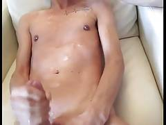 Sucking a big cock