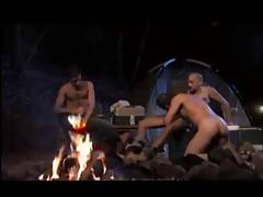 campfire fucking and sucking