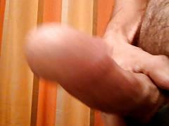 so horny rubbin my cock
