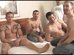 bed games (Kai, Paul, Talon and Vince)