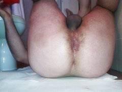 Duoble anal dildo