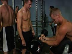 BB Orgy at gym