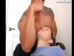 Muscle Worship- Marcus (feet, armpits fetish)