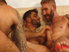 Joe Gunn, Geoffrey Paine and Rio Silver  hunk