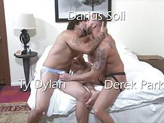 Darius Soli, Ty Dylan and Derek Parker