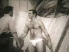 Bob Wilson and Bob Allendar (vintage porn clip)