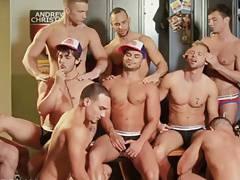 Locker room water boys