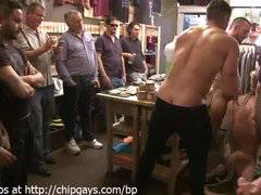 Bdsm orgy with Christopher Daniels