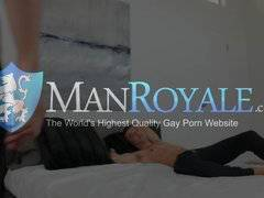 Manroyale Pillow fight leads guys to sucking