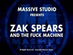 Zak Spears and the fuck machine