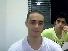 Sexo Gay Amador (Ao vivo) na WebCam com Léo F