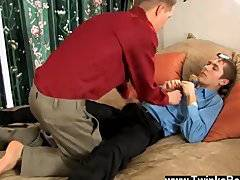 Amazing gay scene What finer way to ease