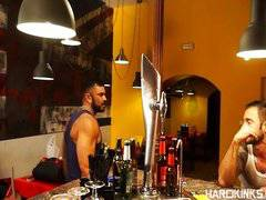 Rogan Richards and Martin Mazza