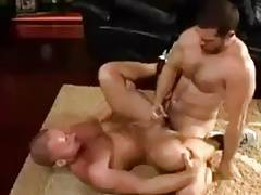 Two very hot men get into the zone