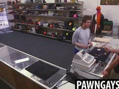 Stud makes a deal at the pawn shop